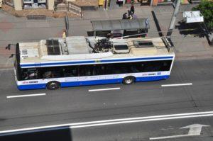 Trolejbus w Gdyni