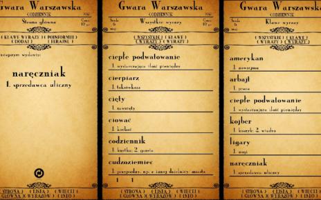 Aplikacja - Gwara Warszawska