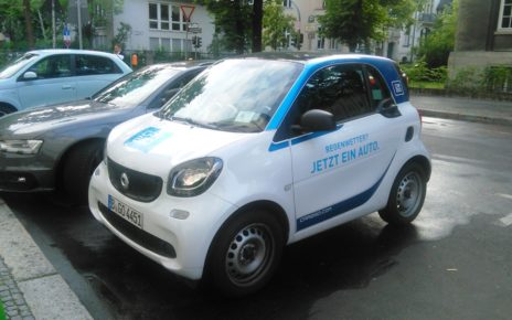 Carsharing, Car2Go, Berlin
