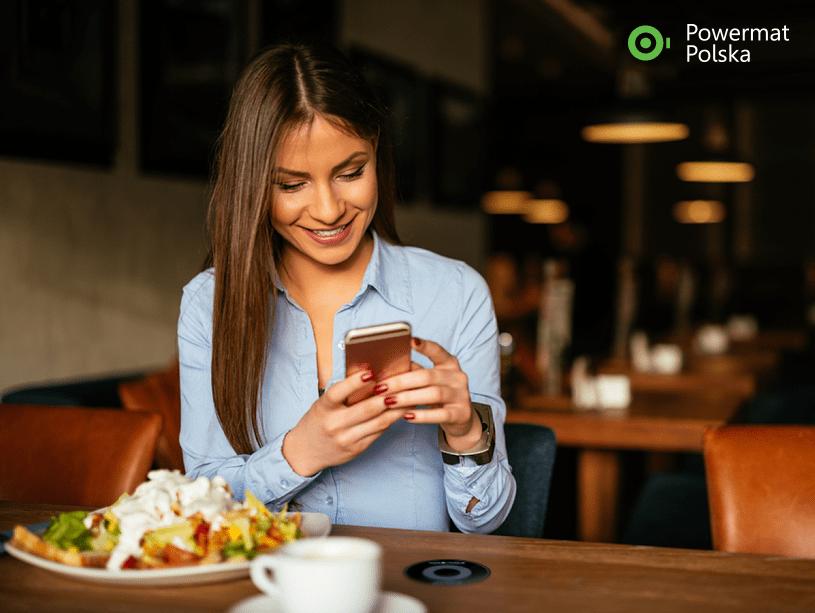 Stacje bezprzewodowego ładowania smartfonów, Powermat