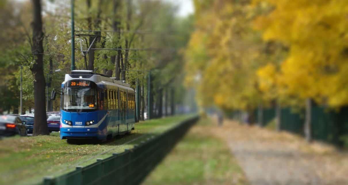 Transport publiczny, Kraków
