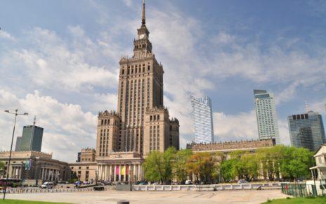 Warszawa, Plac Defilad, Pałac Kultury i Nauki