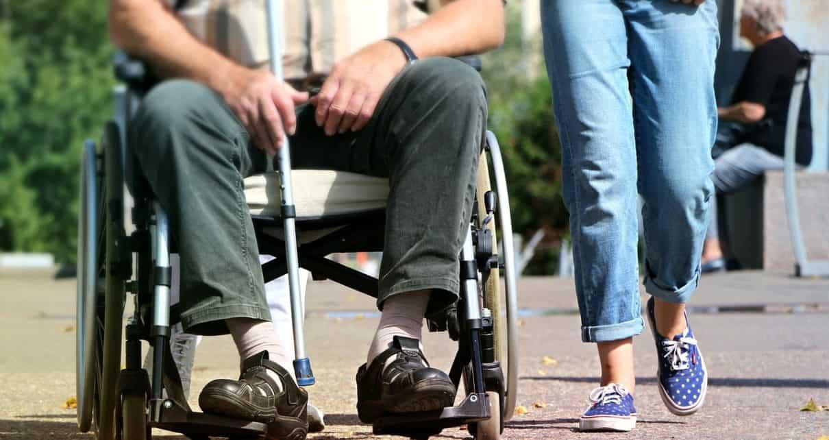 Osoba na wózku