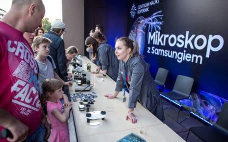 Dzień odkrywców z Samsung w Centrum Nauki Kopernik