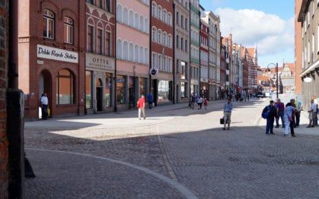 Ulica Stągiewna nagrodzona w konkursie na Najlepszą Przestrzenią Publiczną Województwa Pomorskiego 2017