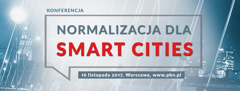 Normalizacja dla Smart Cities - konferencja
