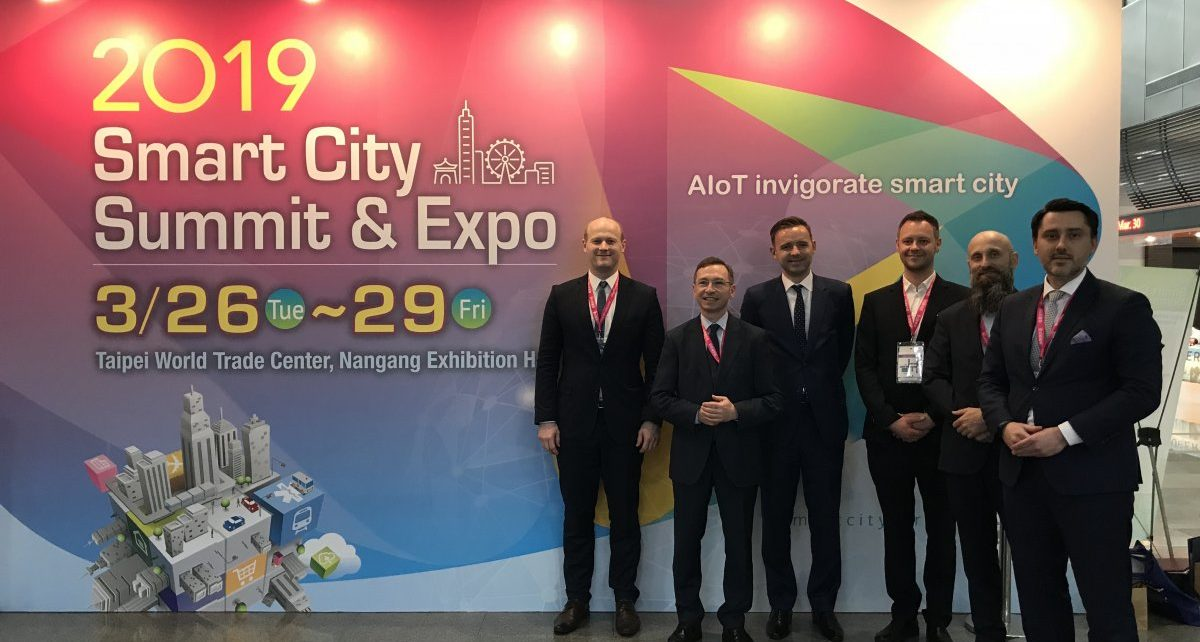 Gdynia rozpoczyna współpracę z Tajpej w zakresie polityki smart cities