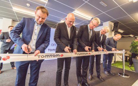 Otwarcie biura TomTom w Poznaniu