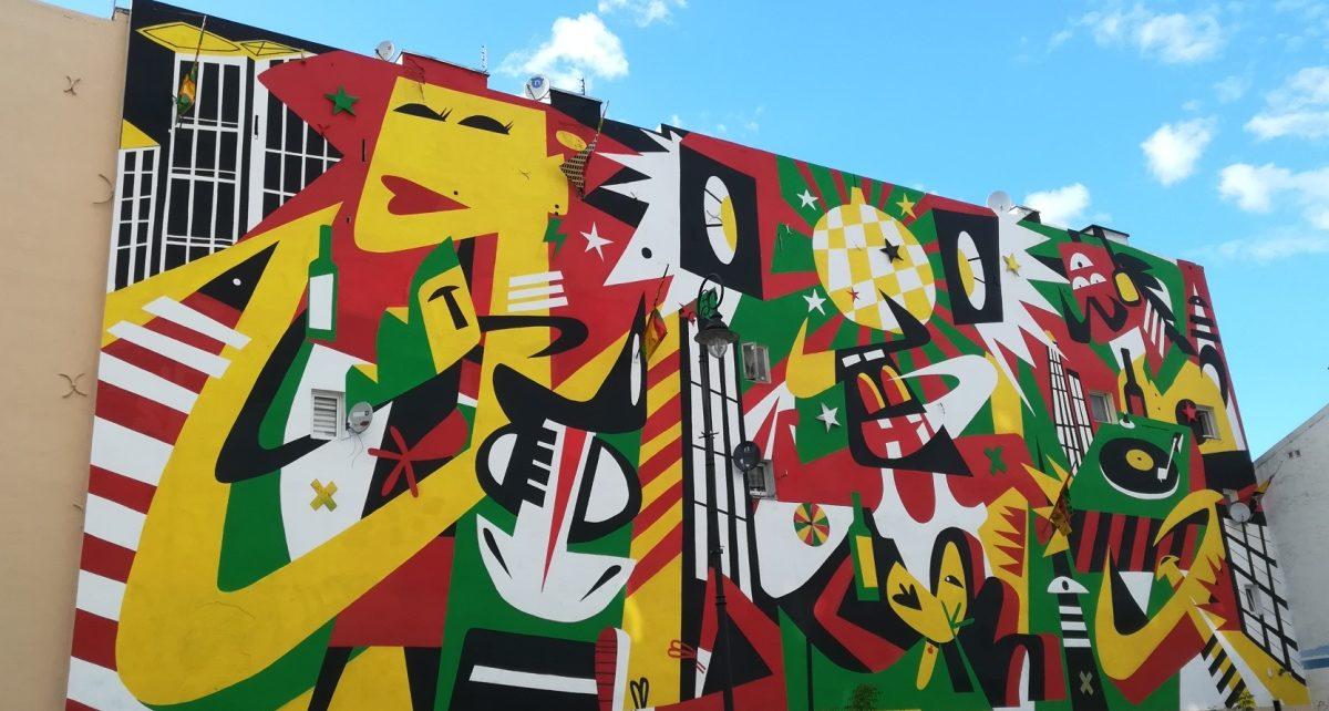 Mural, Warszawa Praga Północ
