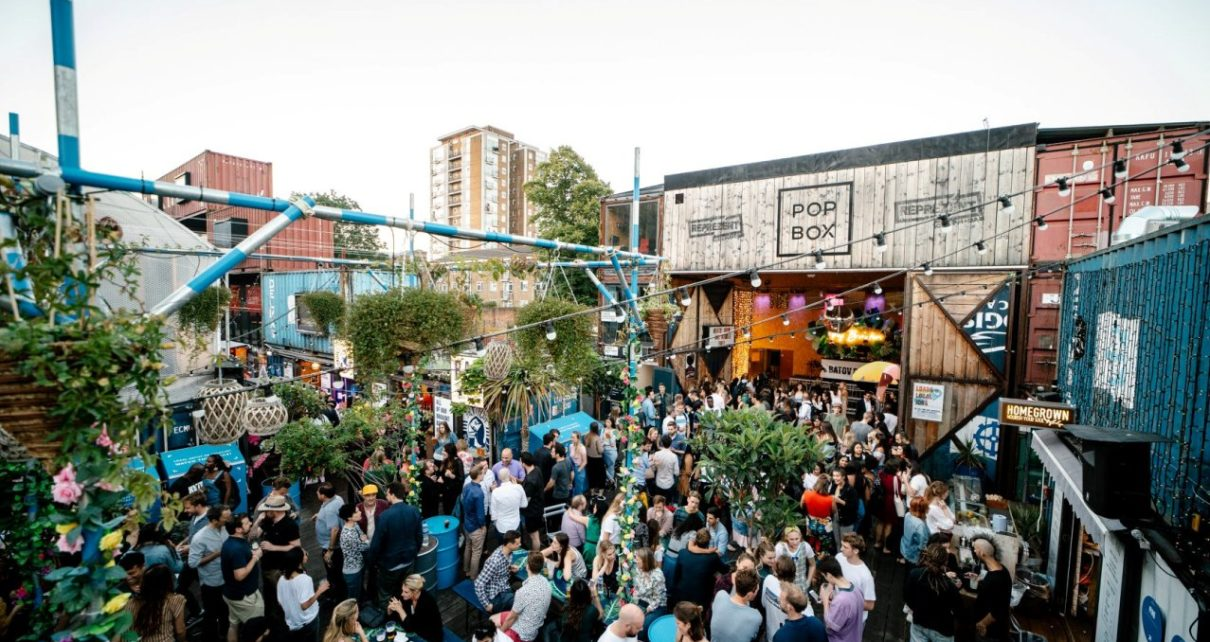 Pop Brixton w Londynie