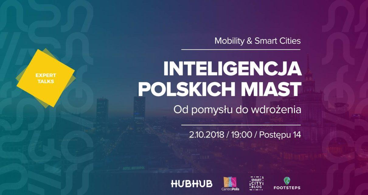Hubhub: Inteligencja polskich miast - Od pomysłu do wdrożenia