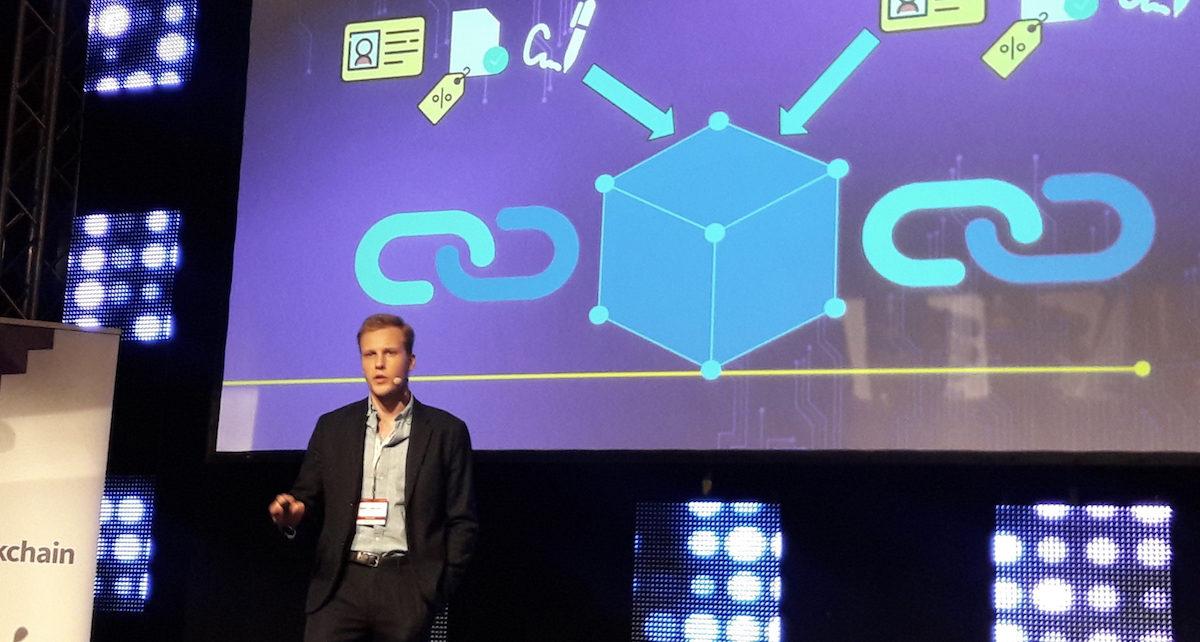 Robert Chmielewski 2 ShareSpace BlockchainTech Kongres 2.10.18