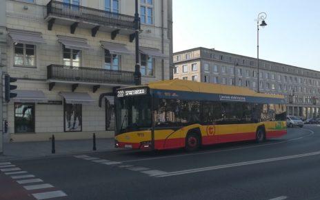 Autobus elektryczny, Warszawa