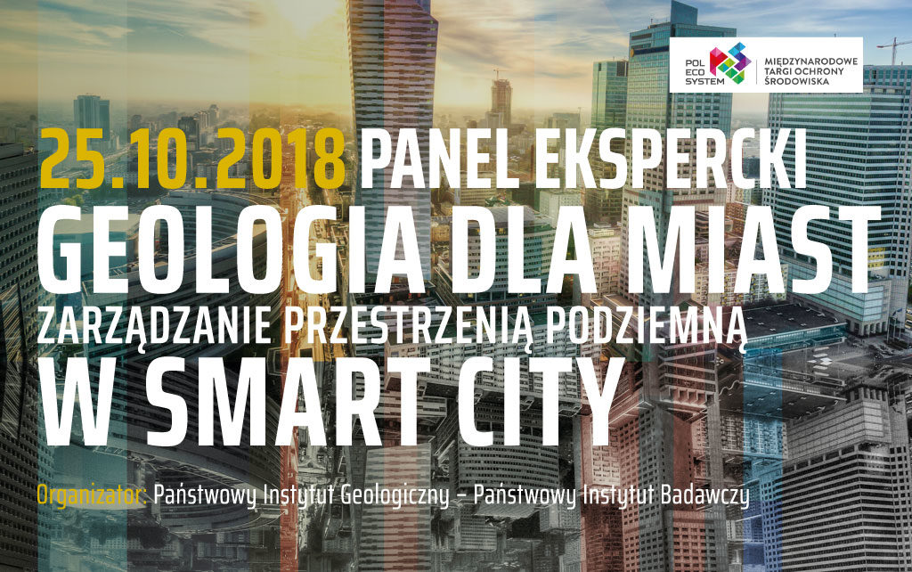 Panel ekspercki. Geologia dla miast. Zarządzanie przestrzenią podziemną w Smart City.