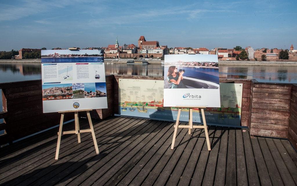 Kolej gondolowa w Toruniu połączy brzegi Wisły