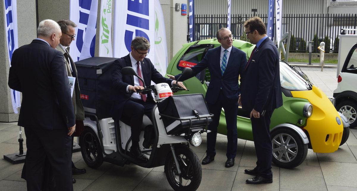 Poczta Polska rozpoczyna testy elektrycznych pojazdów dla listonoszy