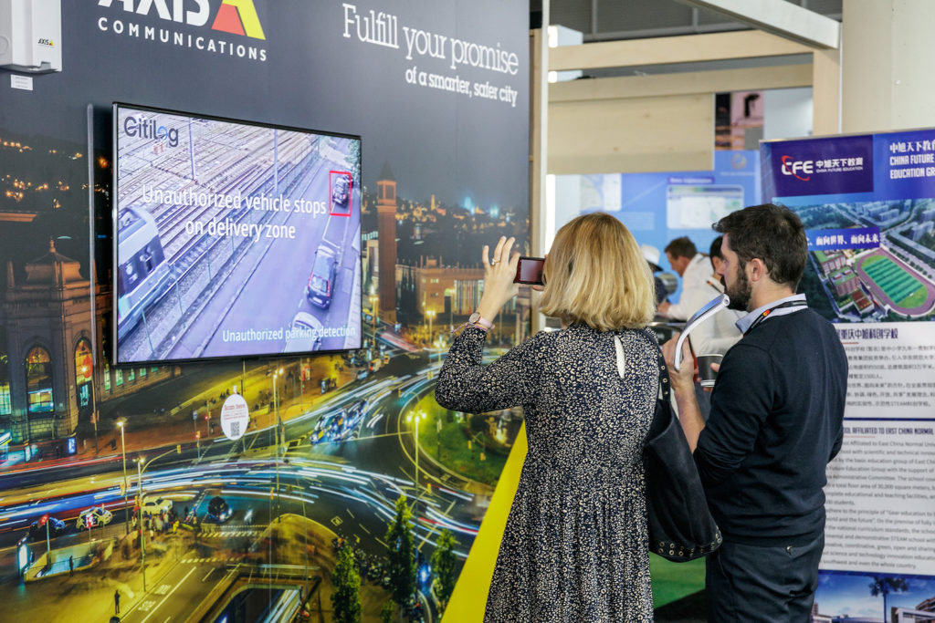 Axis Communications, Smart City Expo World Congress 2018, Barcelona