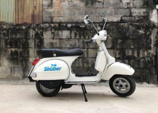 Skuber, skuter z kierowcą