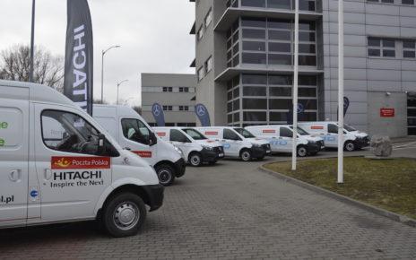 Poczta Polska, samochody elektryczne