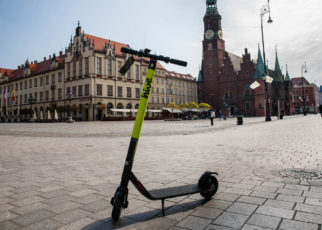 e-hulajnogi hive, Wrocław