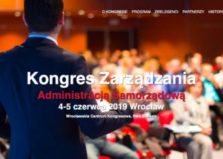 Kongres Zarządzania Administracją Samorządową, Wrocław
