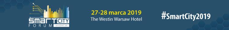 IX edycja Smart City Forum, Warszawa, 27-28 marca 2019